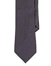 Micro Diamond Silk Tie