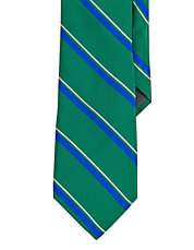 Regency Striped Silk Repp Tie