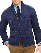 Quilted Terry Shawl Cardigan