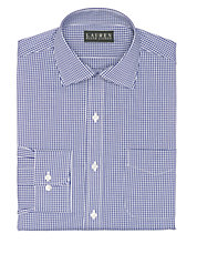 Slim-Fit Checked Dress Shirt