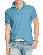 Classic-Fit Pique Polo Shirt