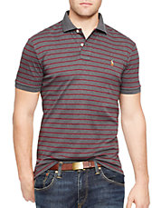 Striped Pima Soft-Touch Polo Shirt