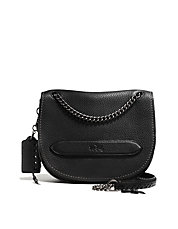Pebbled Leather Shadow Crossbody