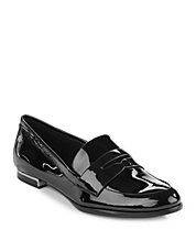 Celia Patent Leather Penny Loafer