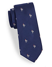 Farmhouse Clubs Silk Twill Tie