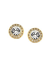 Angelic Pierced Earrings Goldplated