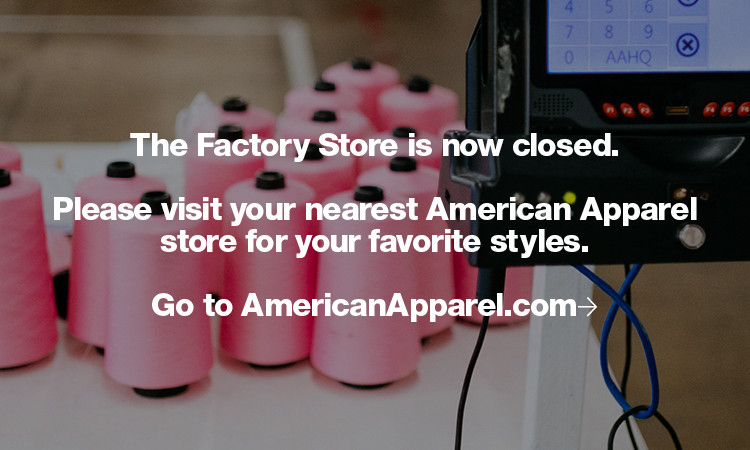 Factory Store Closed