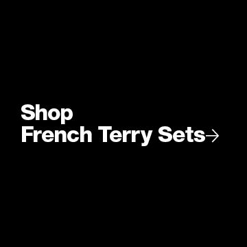 Women's Athleisure - French Terry Sets