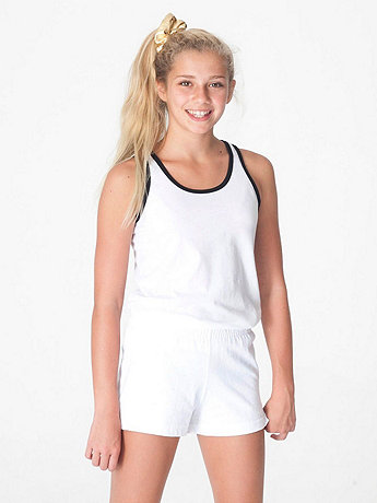 Youth Thick-Knit Jersey P.E. Short