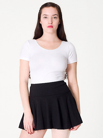 Thick-Knit Jersey Skirt