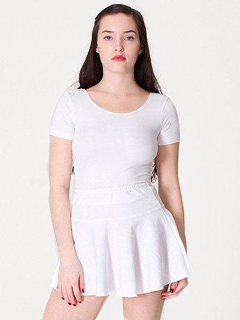 Thick-Knit Jersey Skirt