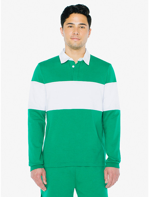 Thick Knit Rugby Team Shirt