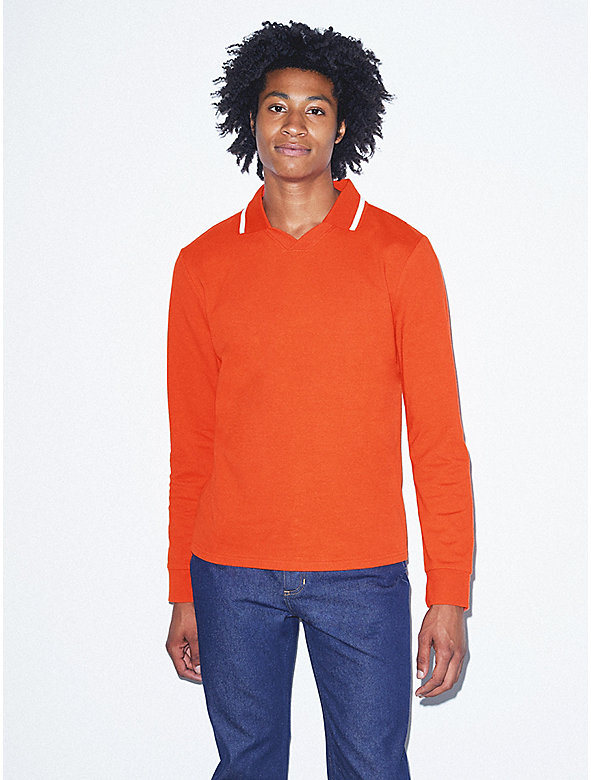 Thick Knit Long Sleeve Soccer Jersey