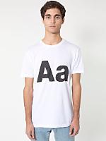 Helvetica Alphabet T-Shirt