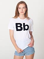 Unisex Helvetica Alphabet T-Shirt