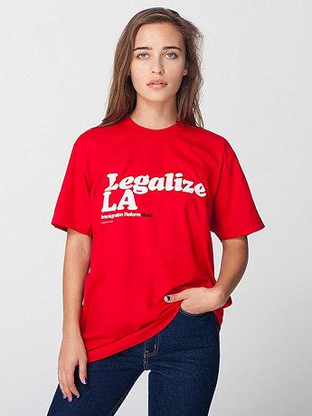 Unisex Legalize LA T-Shirt