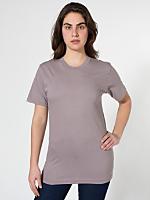 Unisex Organic Fine Jersey Short Sleeve T-Shirt