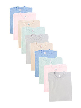 Not-So-Perfect Unisex Fine Jersey Short Sleeve T-Shirt (10-Pack)