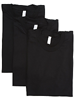 Fine Jersey Short Sleeve T-Shirt (3-Pack)