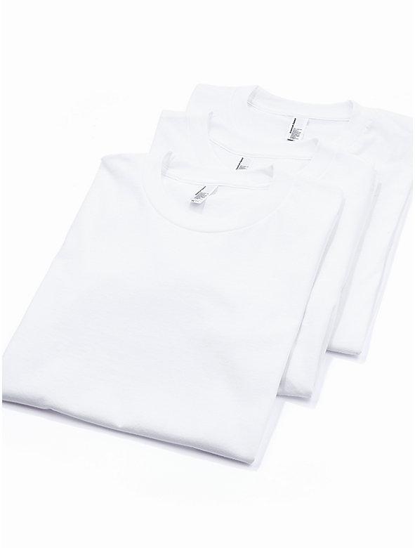 Fine Jersey Crewneck T-Shirt (3-Pack)