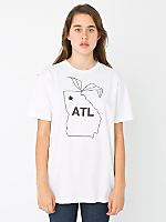 Unisex Screen Printed Tee - ATL Peach State