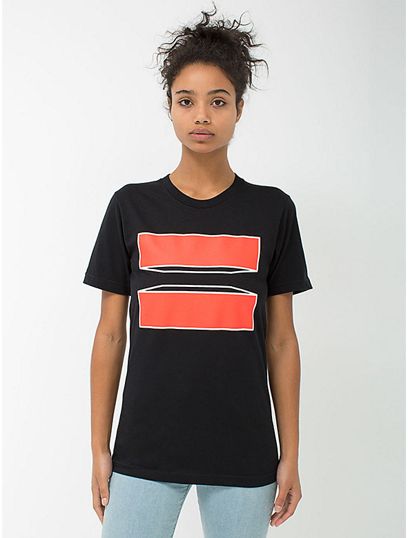 Unisex HRC Foundation x American Apparel Tee