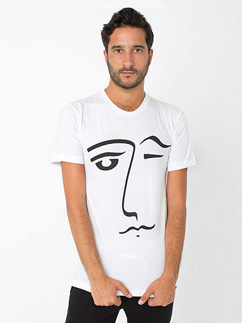 Screen Printed Tee - Le Wink
