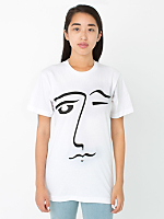 Unisex Screen Printed Tee - Le Wink