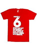 Principle 6 Fine Jersey Short Sleeve T-Shirt