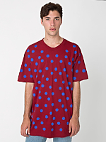 Polka Dot Fine Jersey Short Sleeve T-Shirt