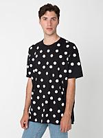 Polka Dot Fine Jersey Short Sleeve T-Shirt