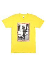 Screen Printed Fine Jersey Short Sleeve T-Shirt - Snoop Dogg Gold Frame