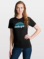 Unisex Tokyo Rising Fine Jersey Short Sleeve T-Shirt