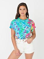 Unisex Kaleidoscope Tie Dye Fine Jersey Short Sleeve T-Shirt