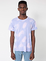 Purple Cloud Tie Dye Fine Jersey Short Sleeve T-Shirt