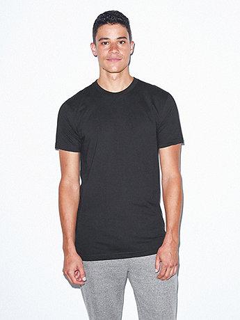 Unisex Fine Jersey Short Sleeve Tall Tee