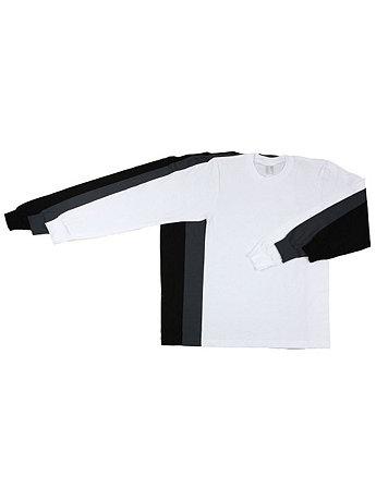 Fine Jersey Long Sleeve T-Shirt (3-Pack)