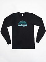 Screen Printed Fine Jersey Long Sleeve T-Shirt
