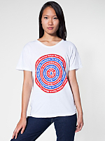 Unisex Power Washed Cities Tee - Red Bulls Eye
