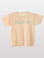 Screen Printed Unisex Power Washed Tee-California