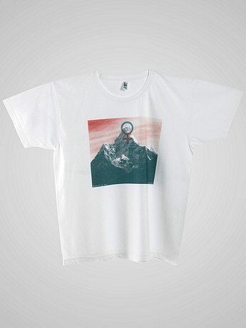 Screen Printed Power Washed Tee - Beyond the Four Walls
