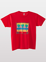 Screen Printed Power Washed Tee - Honolulu