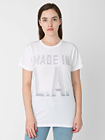 Unisex Screen Printed Power Washed Tee - Made in LA