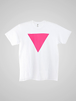 Screen Printed Power Washed Tee-AA is Gay