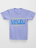 Screen Printed Power Washed Tee - Malibu Local