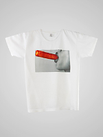 Screen Printed Power Washed Tee - Ice Pop