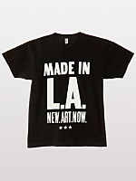 Screen Printed Power Washed Tee - Made in LA
