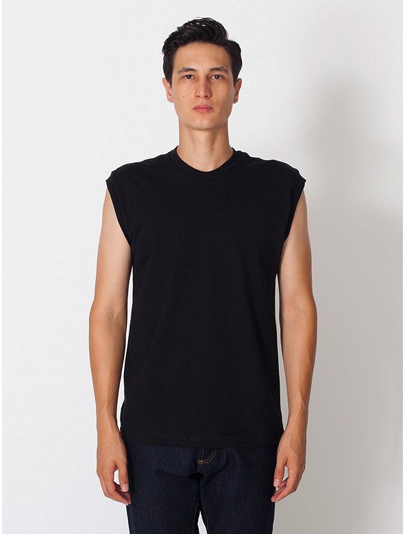 Fine Jersey Muscle T Shirt American Apparel