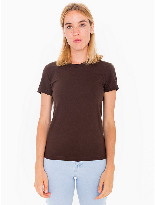 Fine Jersey Short Sleeve Women's T