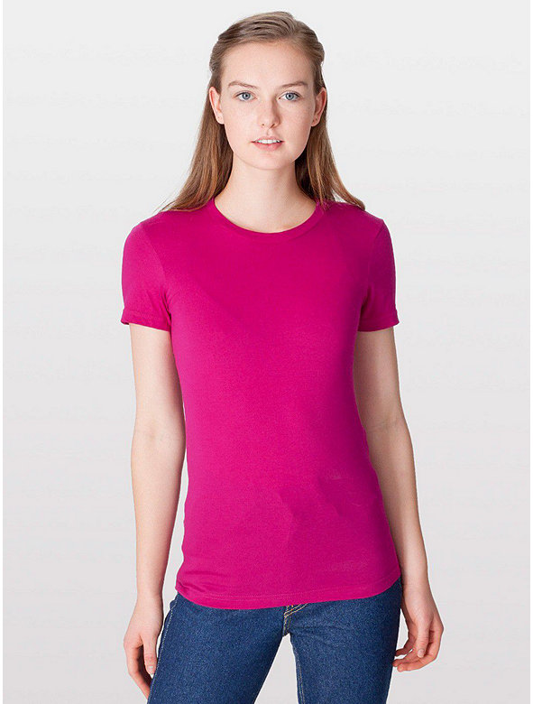 Fine Jersey Short Sleeve Women's T-Shirt